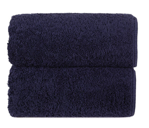 Graccioza Bathroom Towels Glove / Navy HERITAGE LONG DOUBLE LOOP TOWEL