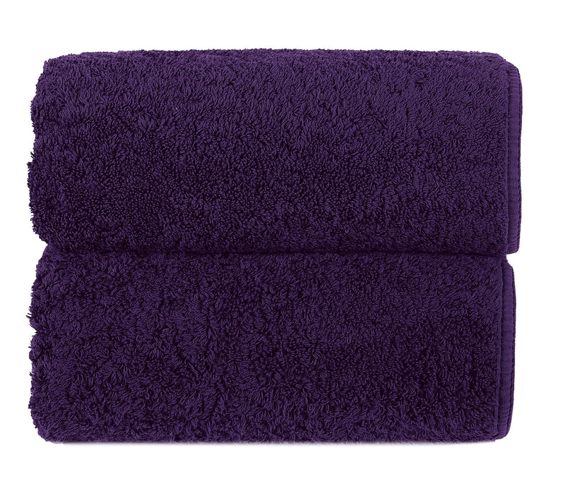 Graccioza Bathroom Towels Glove / Orchid ORCHID | HERITAGE LONG DOUBLE LOOP TOWEL