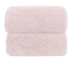 Graccioza Bathroom Towels Glove / Pearl PEARL | HERITAGE LONG DOUBLE LOOP TOWEL