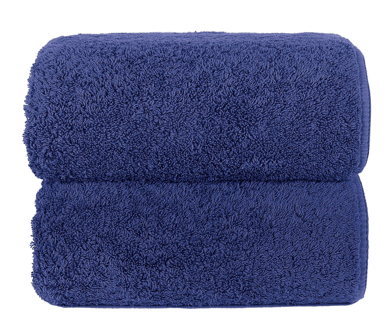 Graccioza Bathroom Towels Glove / Sapphire SAPPHIRE | HERITAGE LONG DOUBLE LOOP TOWEL