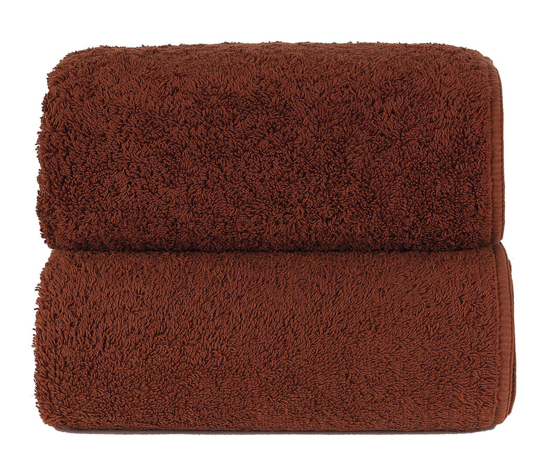 Graccioza Bathroom Towels Glove / Tile TILE | HERITAGE LONG DOUBLE LOOP TOWEL