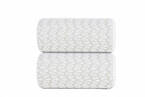 Graccioza Bathroom Towels Washcloth / White / Cotton Grace Cotton Bath Towels