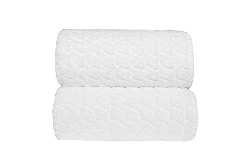 Graccioza Bathroom Towels White / Wash Cloth Wave | Towels