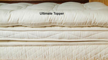 Holy Lamb Organics Natural Mattress Topper WOOL QUILTED TOPPER
