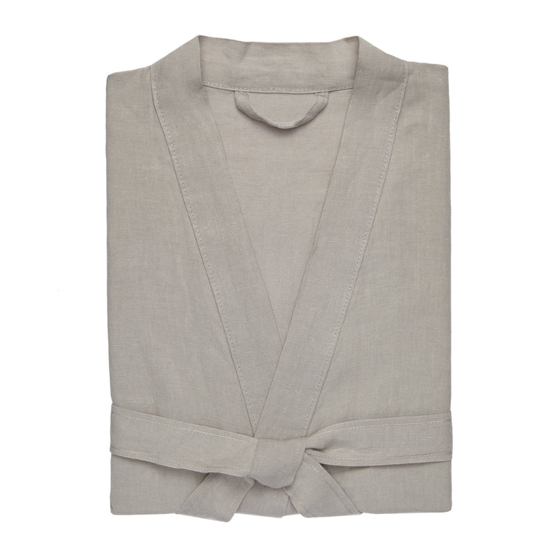 Kassatex Bathrobe S/M / Linen MEN'S LINO ROBE