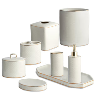 Kassatex Bathroom Accessories FLORENCE BATH ACCESSORIES
