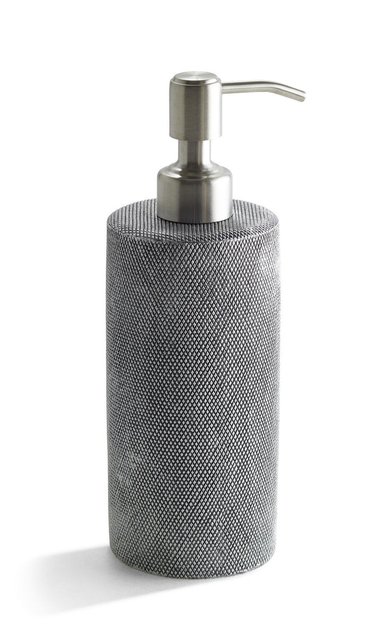 Kassatex Bathroom Accessories Lotion Dispenser / Grey STEEL MESH BATH ACCESSORIES