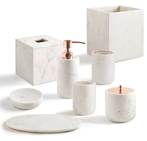 Kassatex Bathroom Accessories Pietra Bath Accessories