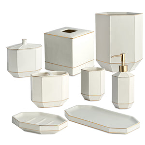 Kassatex Bathroom Accessories St. Honore Bath Accessories