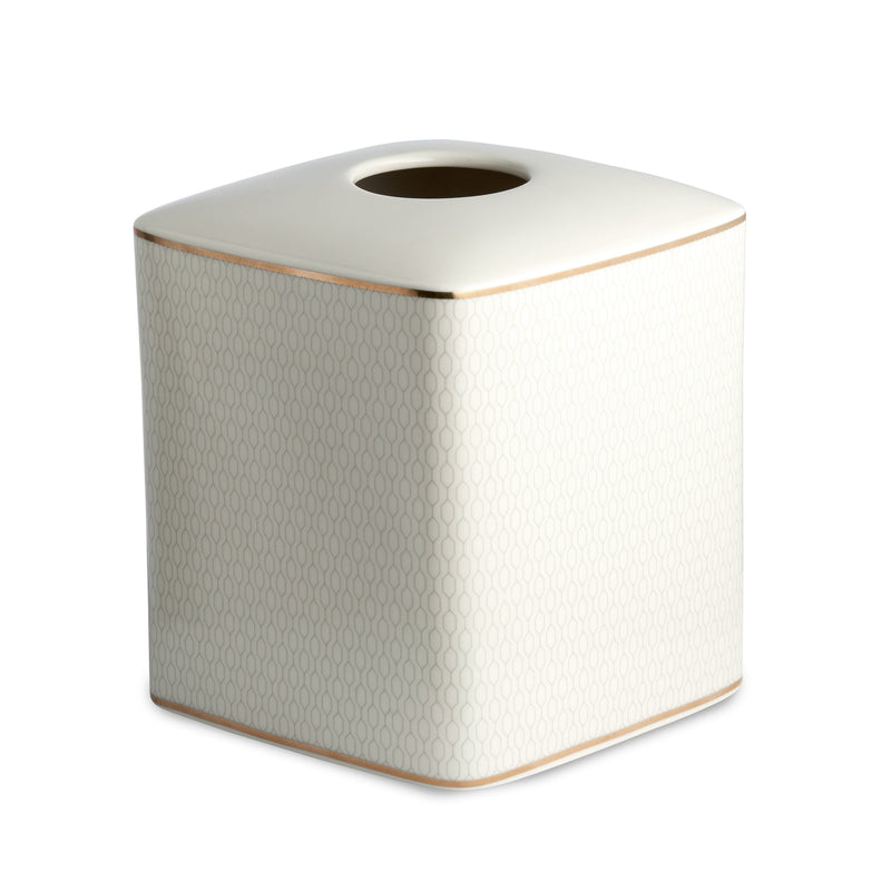 Kassatex Bathroom Accessories Tissue Holder / Porcelain FLORENCE TISSUE HOLDER