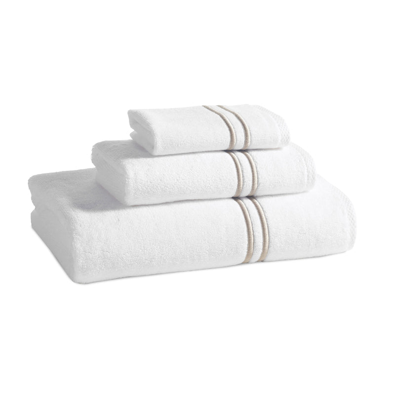 Kassatex Bathroom Towels Bath Towel / Bisque CARRARA TOWELS