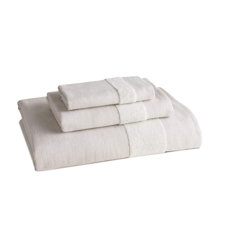 Kassatex Bathroom Towels Bath Towel / Natural Heathered Flatiron Towels