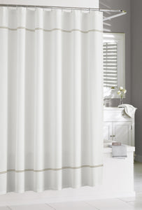 Kassatex Shower Curtain CARRARA SHOWER CURTAIN