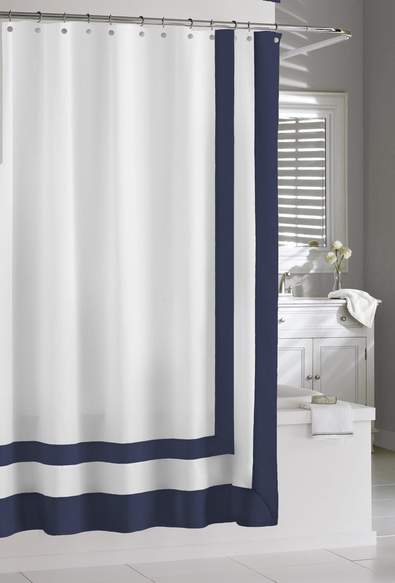 Edge Frame Shower Curtain