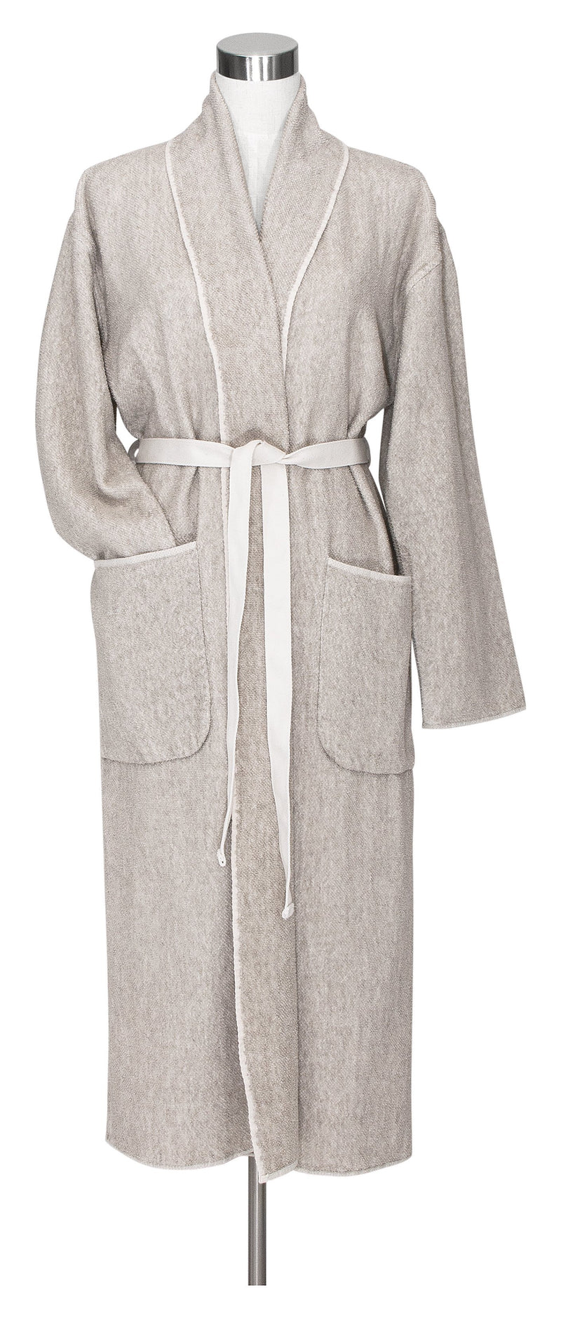 Lapuan Kankurit Bathrobe S Kivi Bathrobe | White Washed Linen