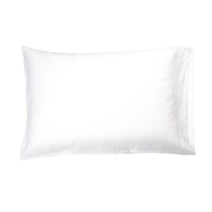 Libeco Bedding Heritage Pillow Case / King / White HERITAGE PILLOW CASE