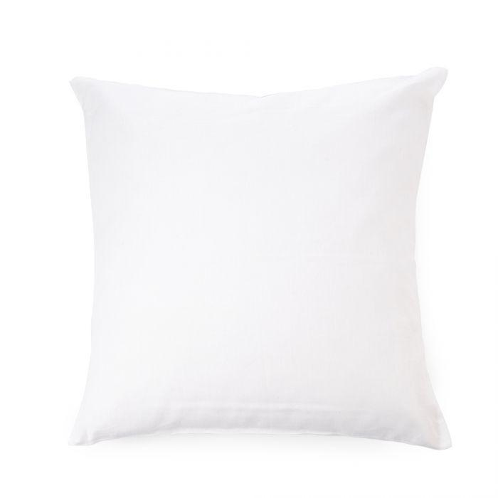 Libeco Bedding Heritage Pillow Sham / Euro / White HERITAGE PILLOW SHAM