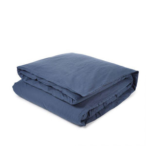 Libeco Bedding Twin / Blue Rhapsody CALIFORNIA DUVET COVER & PILLOW SET