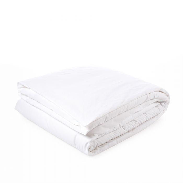 Libeco Bedding Twin / Optic White CALIFORNIA DUVET COVER & PILLOW SET