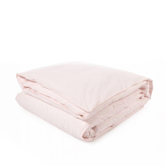 Libeco Bedding Twin / Pale Rose CALIFORNIA DUVET COVER & PILLOW SET