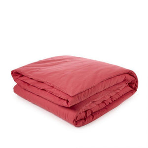 Libeco Bedding Twin / Strawberry CALIFORNIA DUVET COVER & PILLOW SET