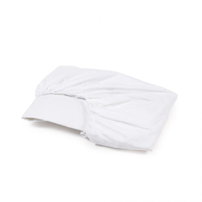 Libeco bedding Twin / White / Fitted Sheet HERITAGE FITTED SHEET