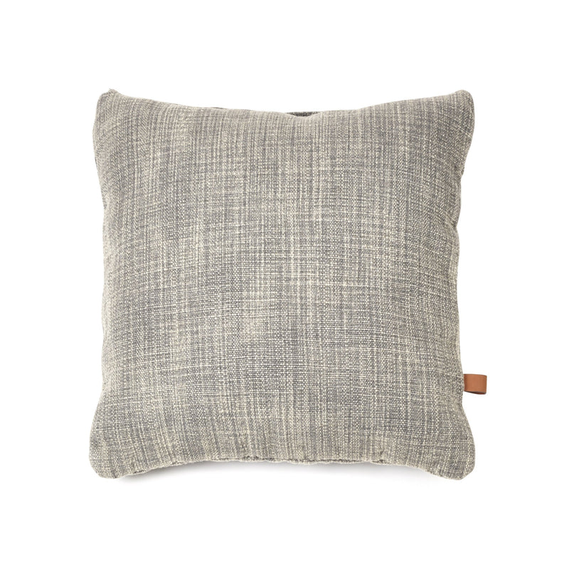 "Libeco Decorative PIllows 25x25"" / Petrol CONSTRUCTION PETROL PILLOW"