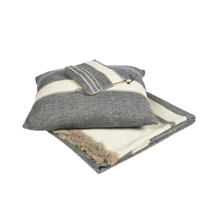 Libeco Throws & Blankets North Sea Stripe Throw
