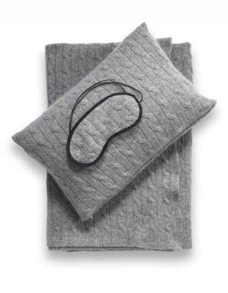 Luxury Throw Blankets Coverlets Cashmere Travel Blanket Sets