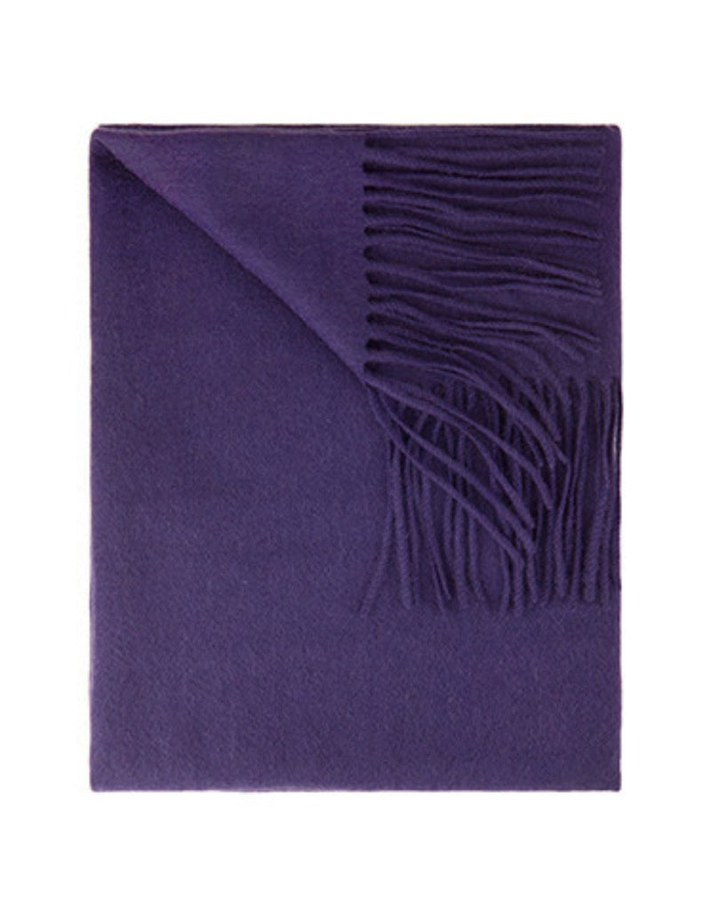 Sofia Cashmere Throws & Blankets Amethyst TRENTINO CASHMERE THROW IN AMETHYST