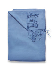 Sofia Cashmere Throws & Blankets Blue TRENTINO CASHMERE THROW IN BLUE HAZE