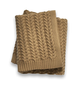 Sofia Cashmere Throws & Blankets Heather Taupe TOSCANA CASHMERE THROW IN HEATHER TAUPE
