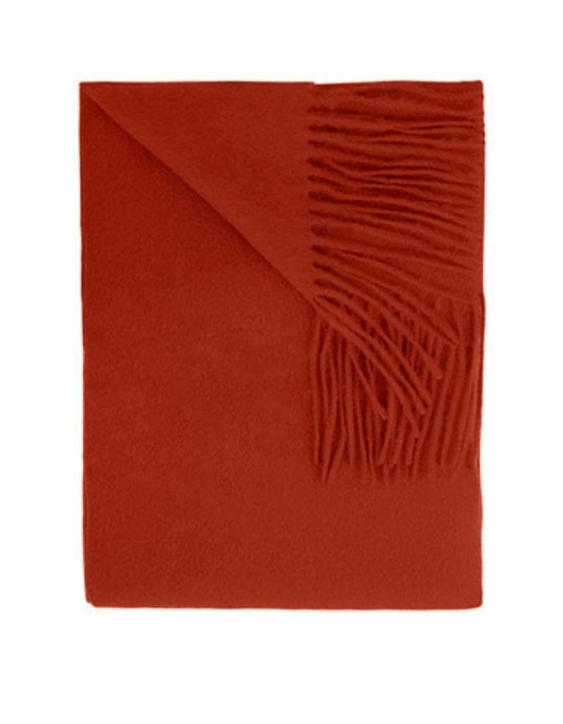 Sofia Cashmere Throws & Blankets Paprika Paprika Trentino Cashmere Throw