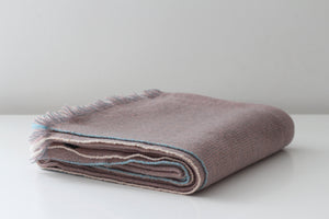 Teixidors Throws & Blankets Pink PINK FUSION CASHMERE THROW
