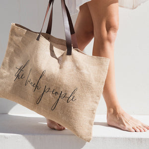 The Beach People Bag Jute Bag Original