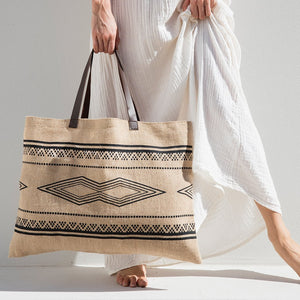 The Beach People Bag Jute Bag - The Kilim