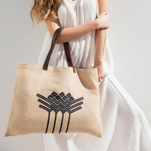 The Beach People Bag Jute Bag - The Savannah