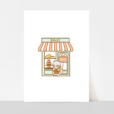 Brambleberry Bakery Art Print