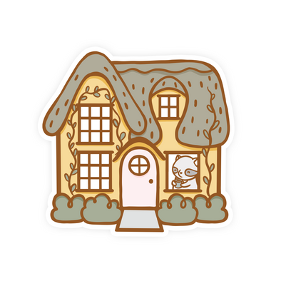 Brambleberry Hazelfield Cottage Vinyl Sticker