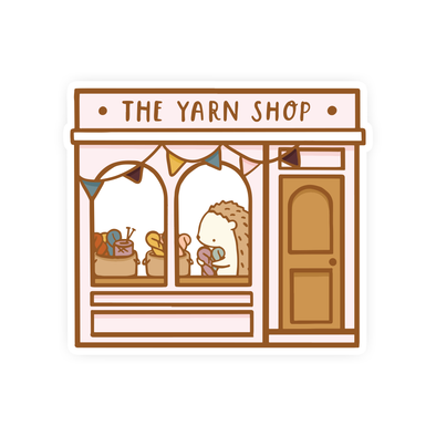 Brambleberry Yarn Shop Vinyl Sticker