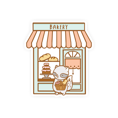 Brambleberry Bakery Vinyl Sticker