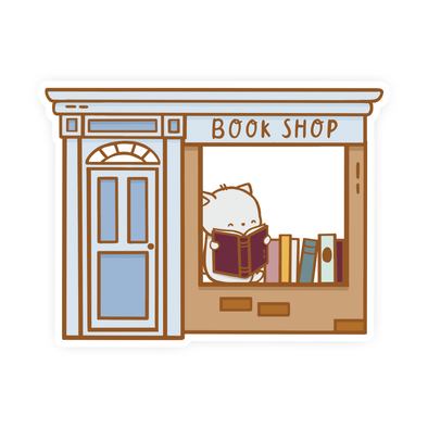 Brambleberry Book Shop Vinyl Sticker