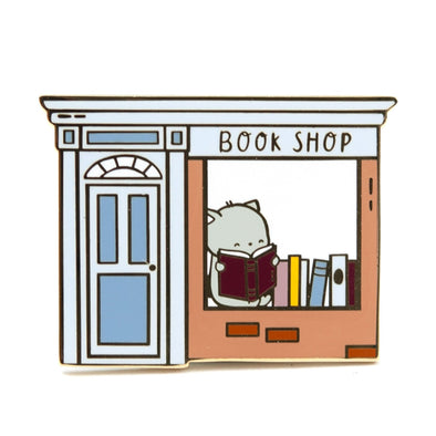 Brambleberry Book Shop Pin