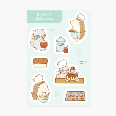 Baking Sticker Sheet