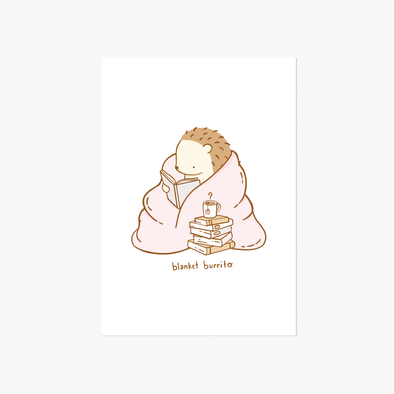 Blanket Burrito Greeting Card