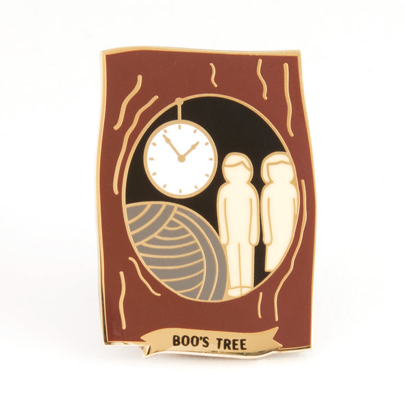 Boo's Tree Enamel Pin