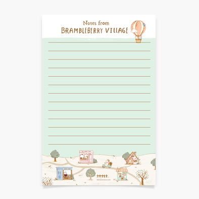 Brambleberry Notepad