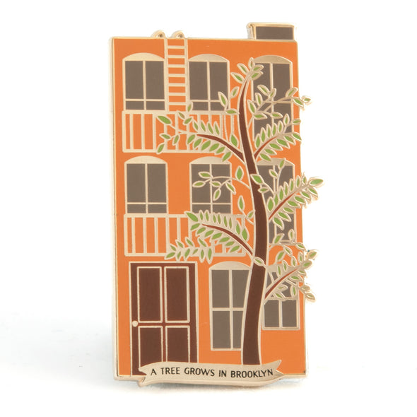 A Tree Grows in Brooklyn Enamel Pin