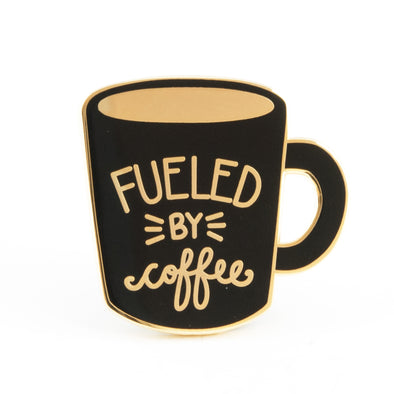 Fueled by Coffee Pin ☕️