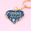 Seconds Courage Keychain